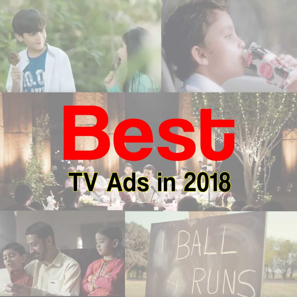 The Best TV ads in 2018